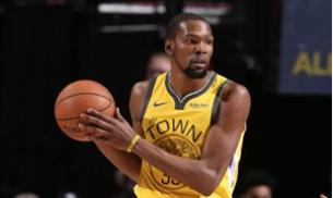 Kevin Durant no culpa a los Warriors de su lesión