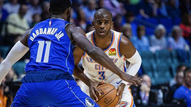 NBA  Los nuevos Thunder estrenan la pretemporada… ¡con tres bases titulares!
