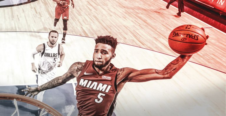 Miami Heat Derrick Jones Jr.