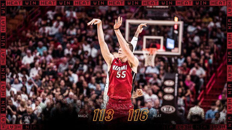 Orlando Magic 113-116 Miami Heat