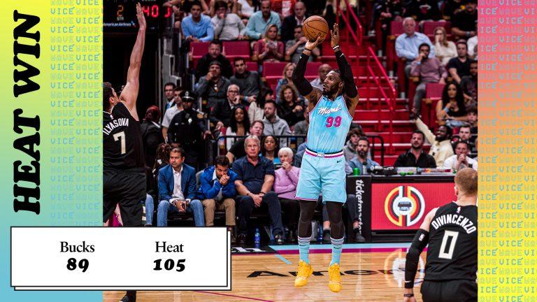 Miami Heat vs. Milwaukee Bucks