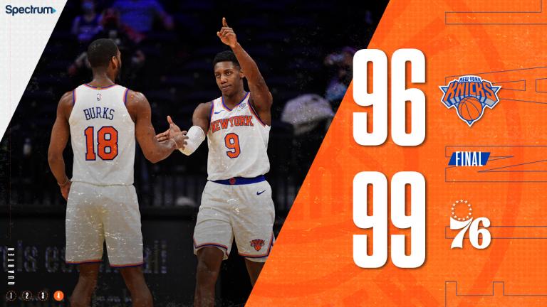 New York Knicks vs. Philadelphia 76ers