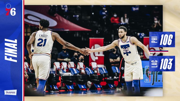 Philadelphia 76ers vs. Los Angeles Clippers